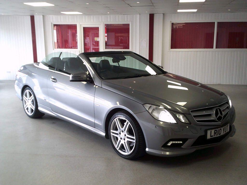 Mercedes-Benz E Class Convertible 3.0 E350 CDI BlueEFFICIENCY Sport Cabriolet 2dr