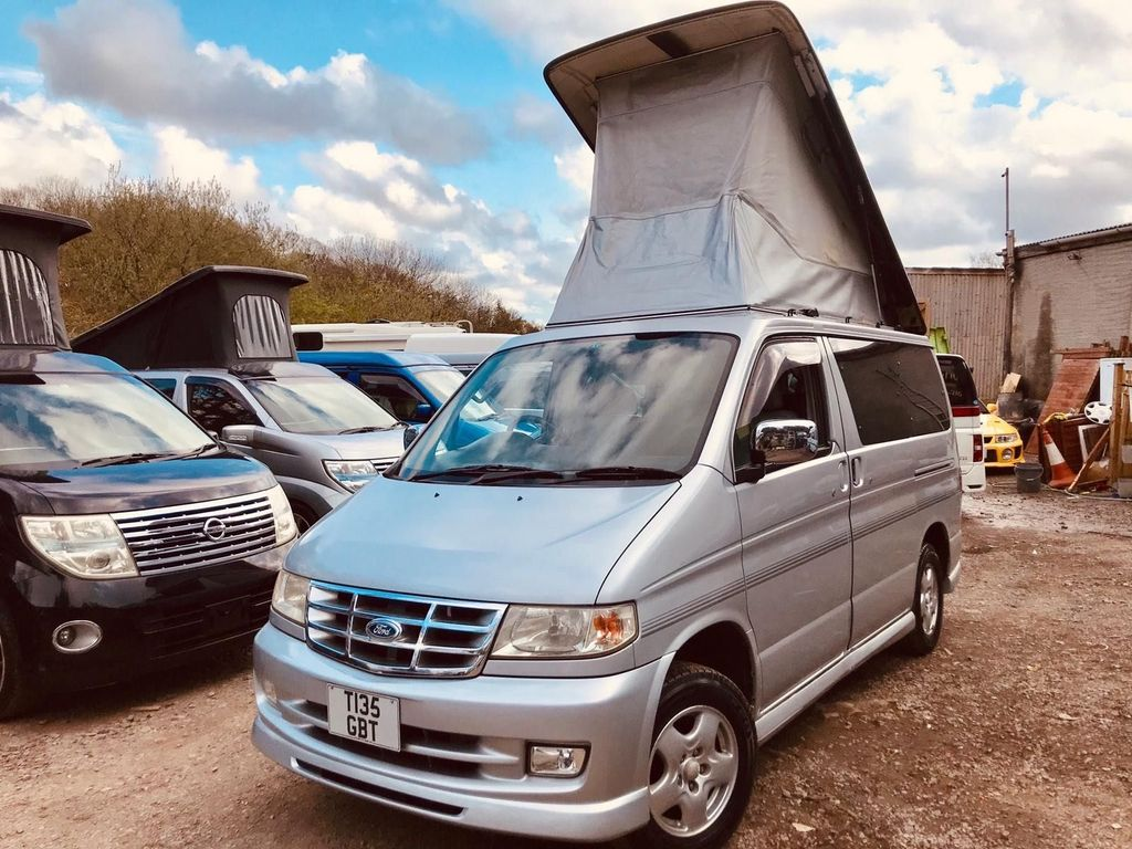 Mazda BONGO AFT 4 BERTH FULL SIDE CAMPER CONVERSION Campervan PETROL LOW MILEAGE