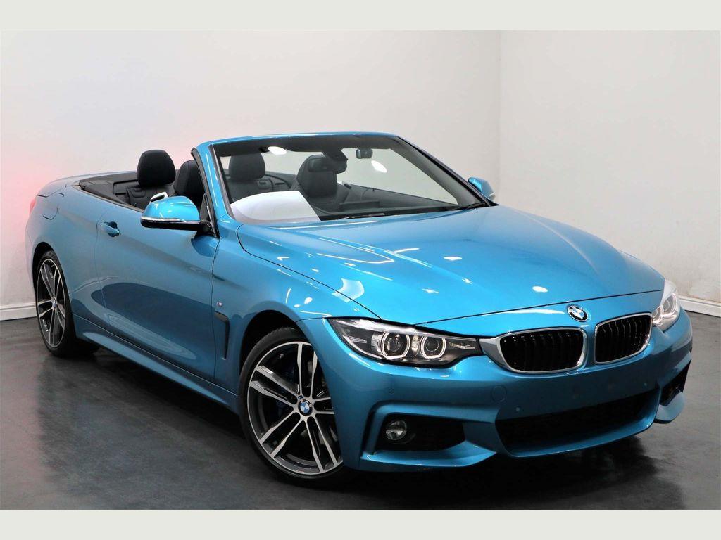 BMW 4 Series Convertible 2.0 420d M Sport (s/s) 2dr