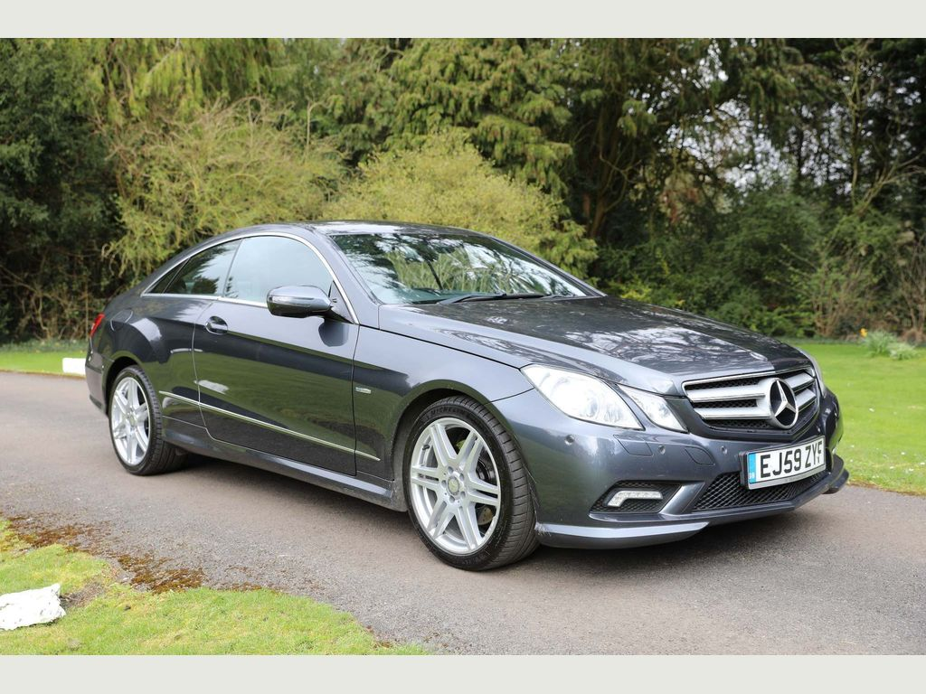 Mercedes-Benz E Class Coupe 2.1 E250 CDI BlueEFFICIENCY Sport 2dr