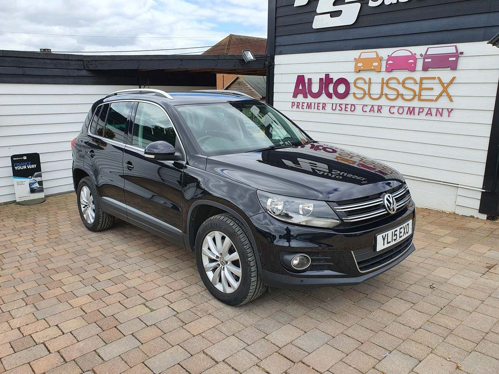 Volkswagen Tiguan SUV 2.0 TDI BlueMotion Tech Match 4WD 5dr