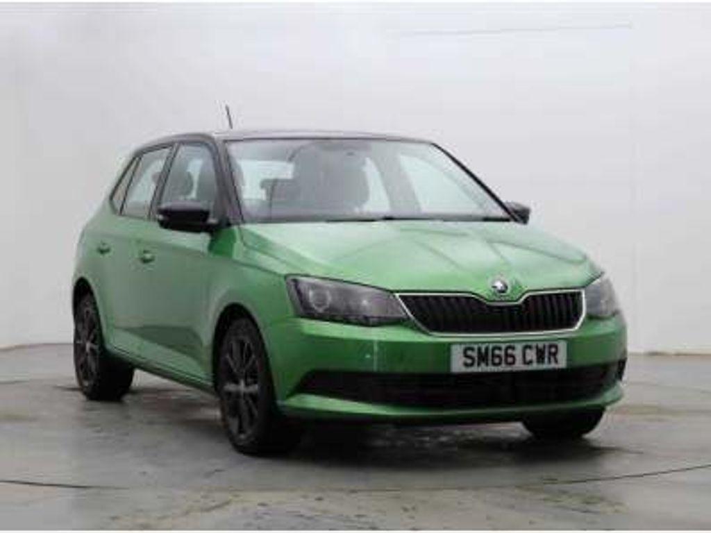 SKODA Fabia Hatchback 1.2 TSI Colour Edition (s/s) 5dr
