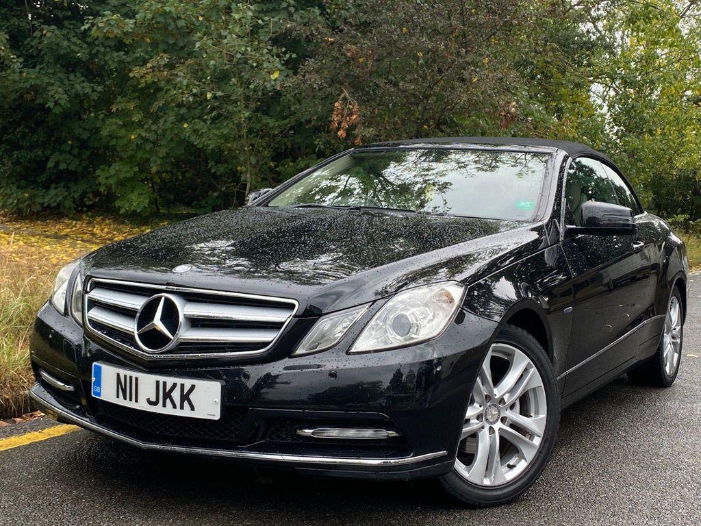 Mercedes-Benz E Class Convertible 2.1 E220 CDI BlueEFFICIENCY SE Cabriolet 7G-Tronic Plus 2dr