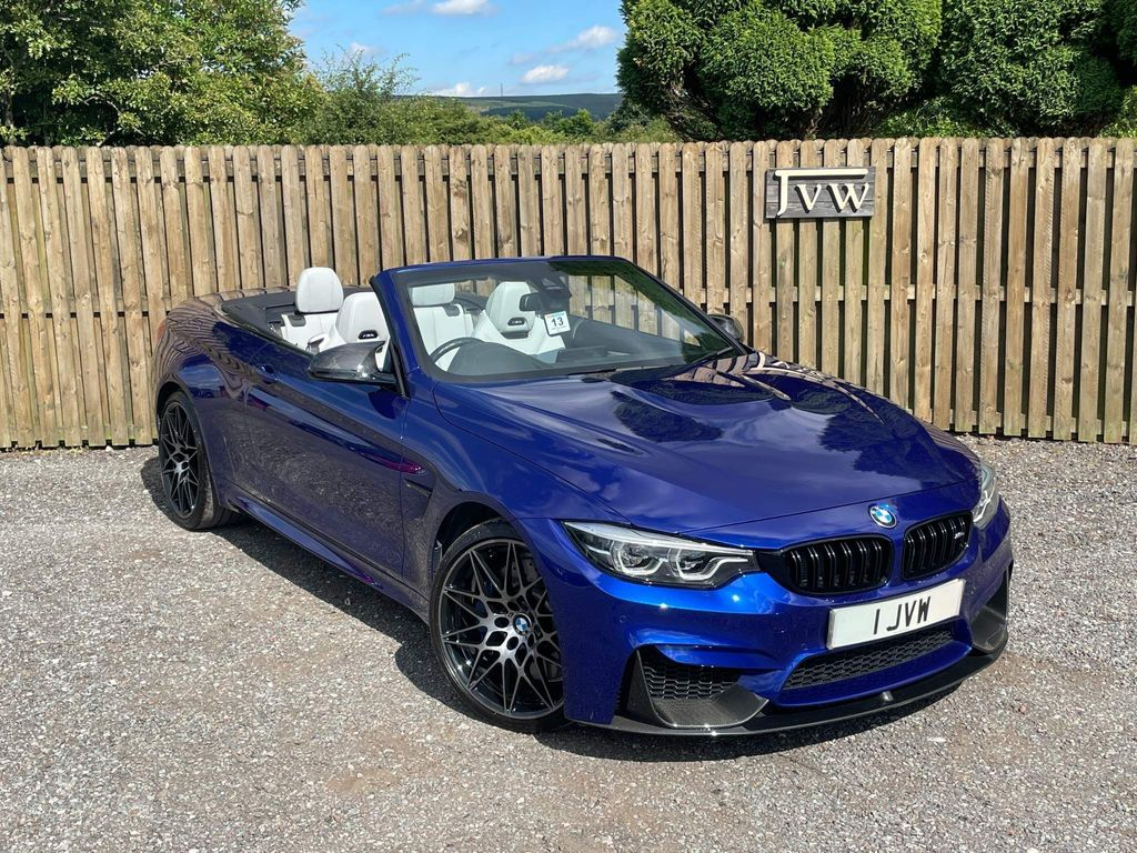 BMW M4 Convertible 3.0 BiTurbo GPF Competition DCT (s/s) 2dr