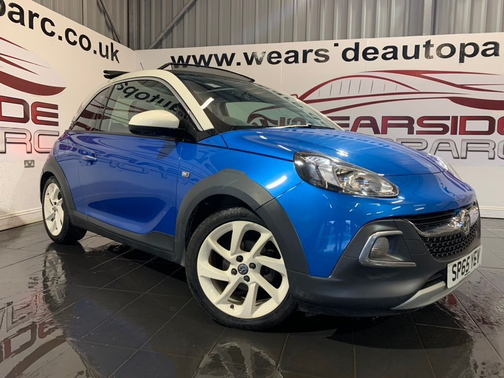 Vauxhall ADAM Hatchback 1.2i ROCKS AIR 3dr