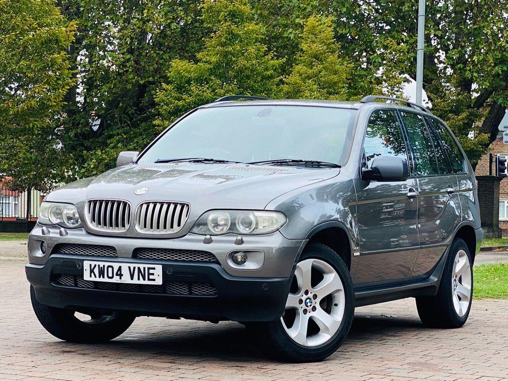 BMW X5 SUV 4.4i V8 Sport Auto 4WD 5dr