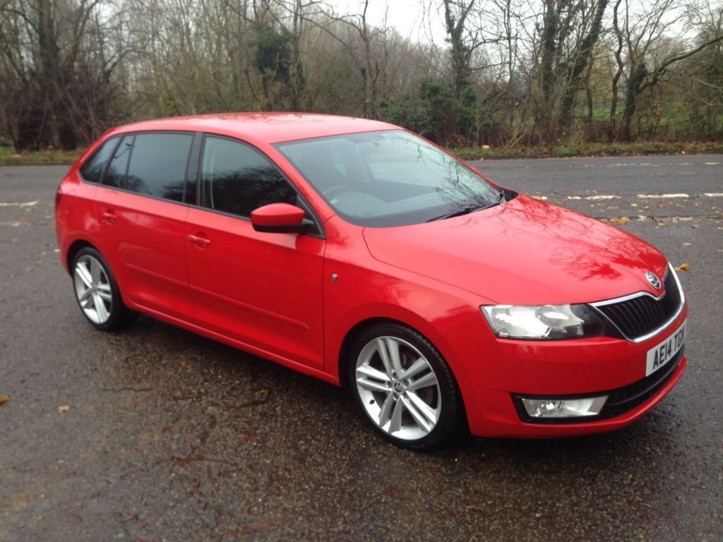 SKODA Rapid Spaceback Hatchback 1.6 TDI GreenTech CR Elegance Spaceback 5dr