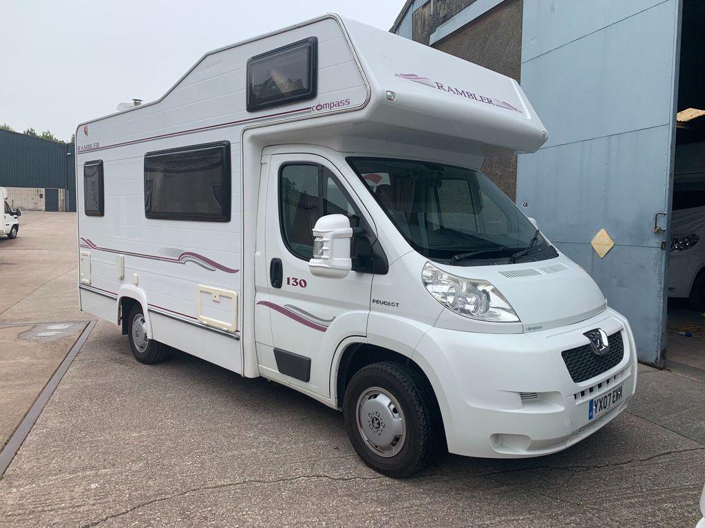 Compass Rambler 130 Coach Built REAR TRAVELLING SEATS