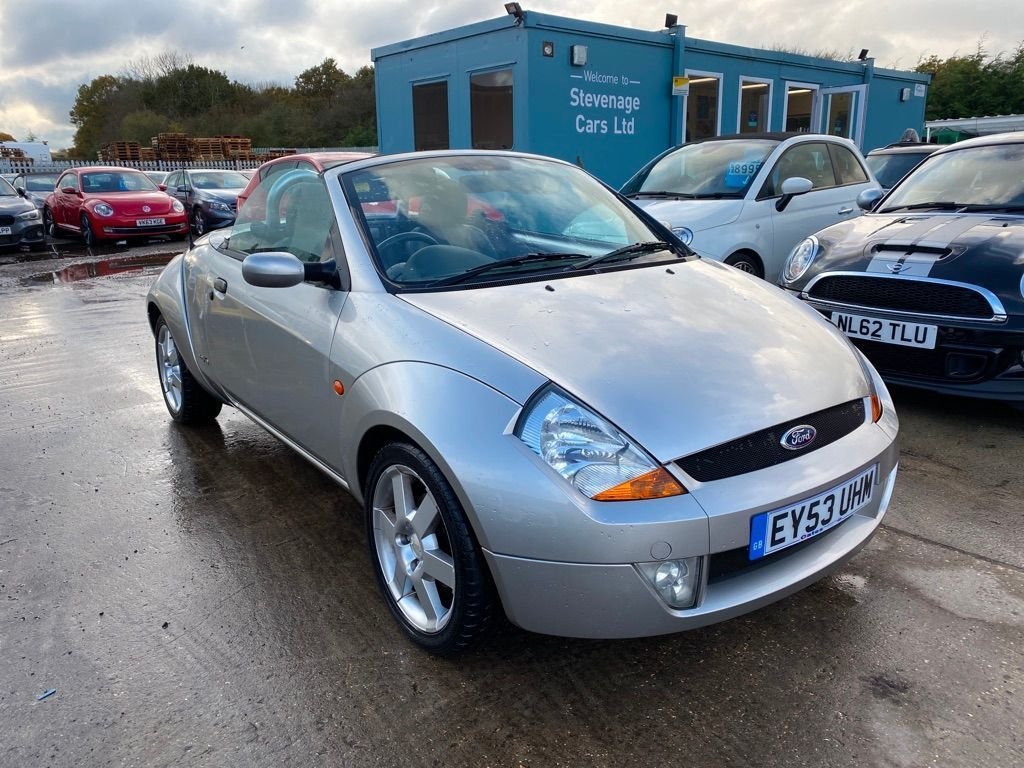 Ford Streetka Convertible 1.6 Luxury 2dr