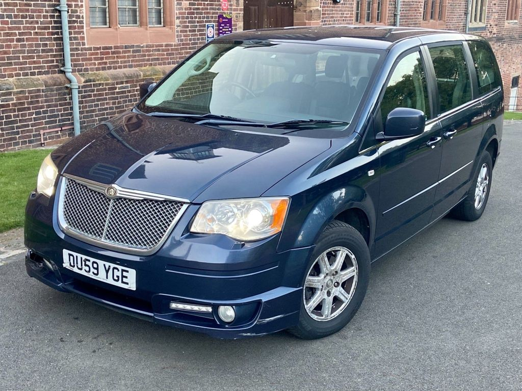 Chrysler Grand Voyager MPV 2.8 CRD 25th Anniversary Limited Edition 5dr