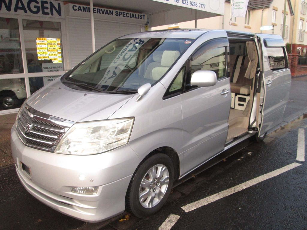 "Toyota Alphard Campervan AX L Edition 2.4 5dr 48"" Rock n Roll Bed 5 Seater"