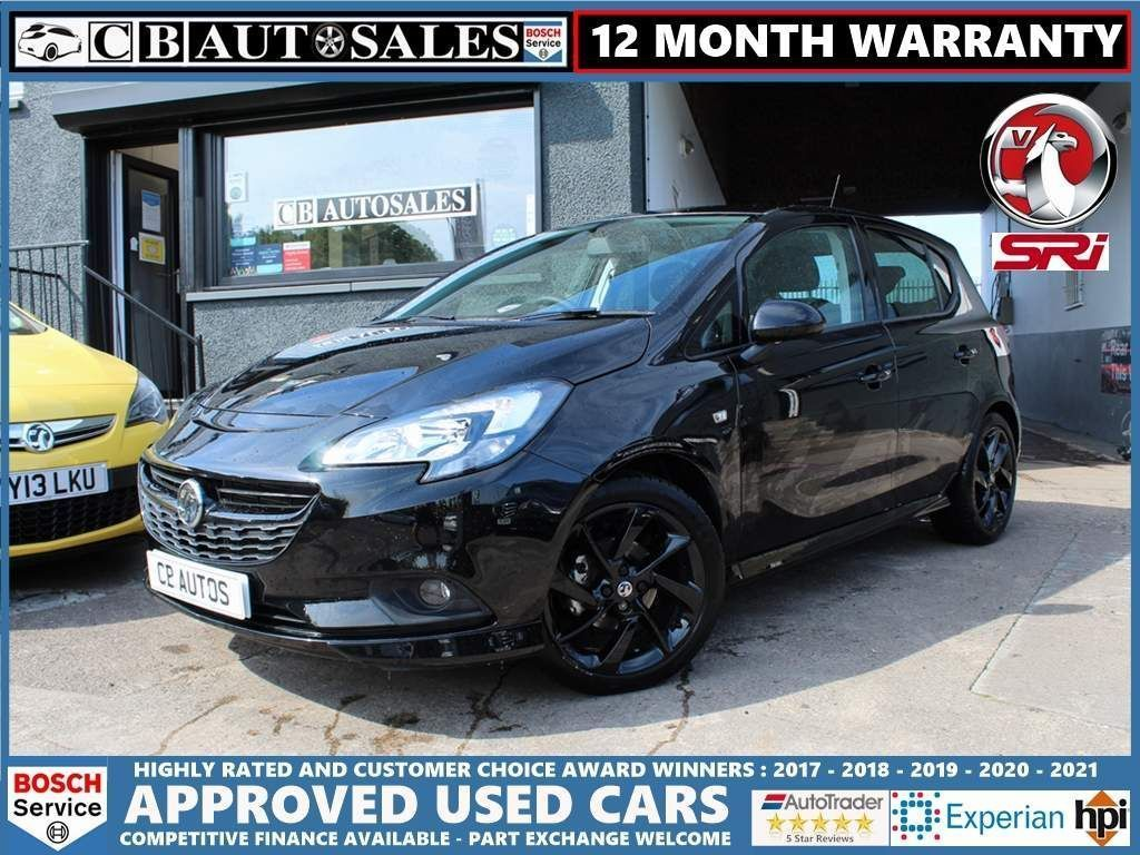 Vauxhall Corsa Hatchback 1.4i ecoTEC SRi VX Line Nav Black 5dr