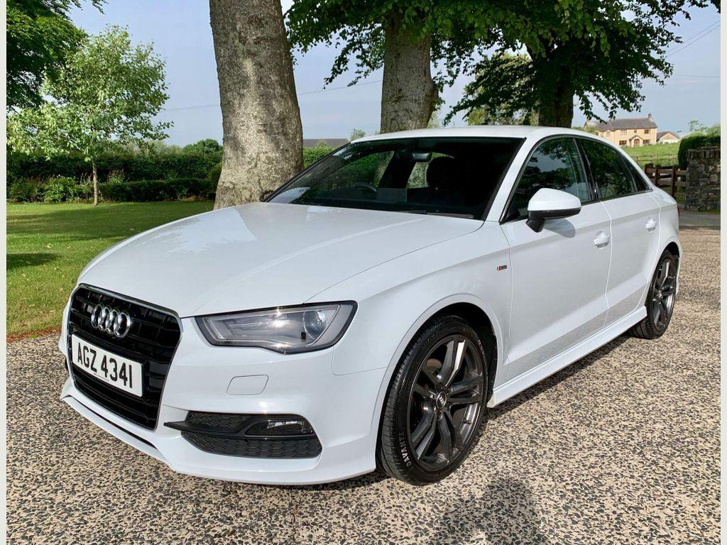 Audi A3 Saloon 1.4 TFSI CoD S line (s/s) 4dr (Nav)