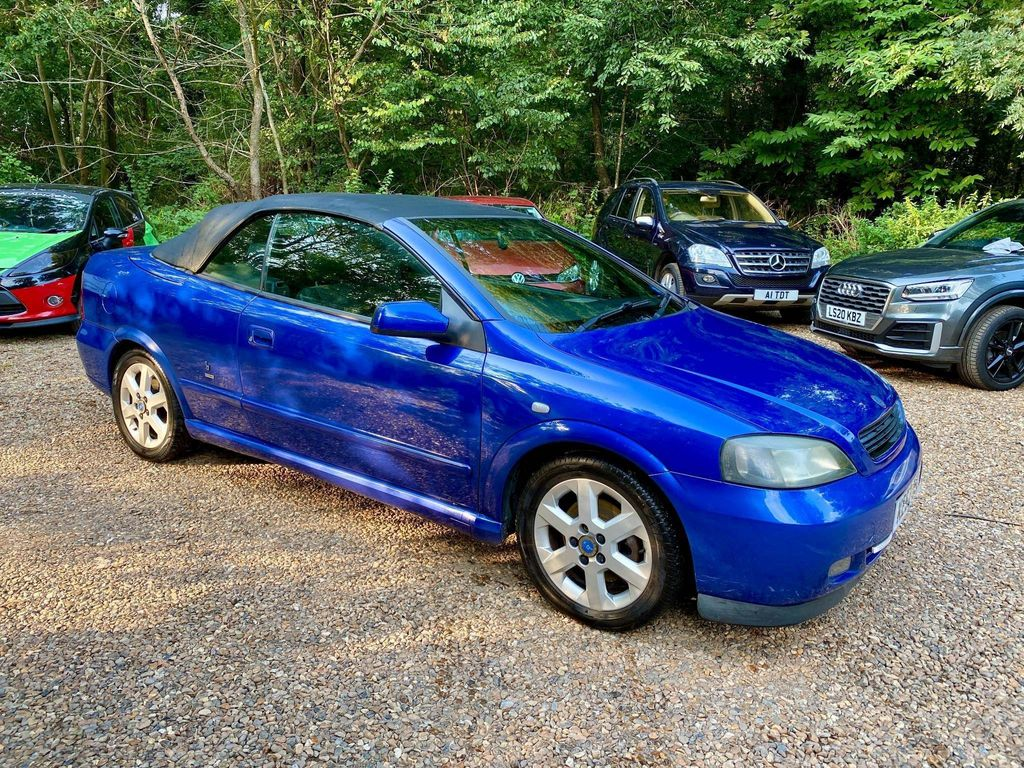 Vauxhall Astra Convertible 2.2 i 16v Convertible 2dr Petrol Automatic (214 g/km, 145 bhp)