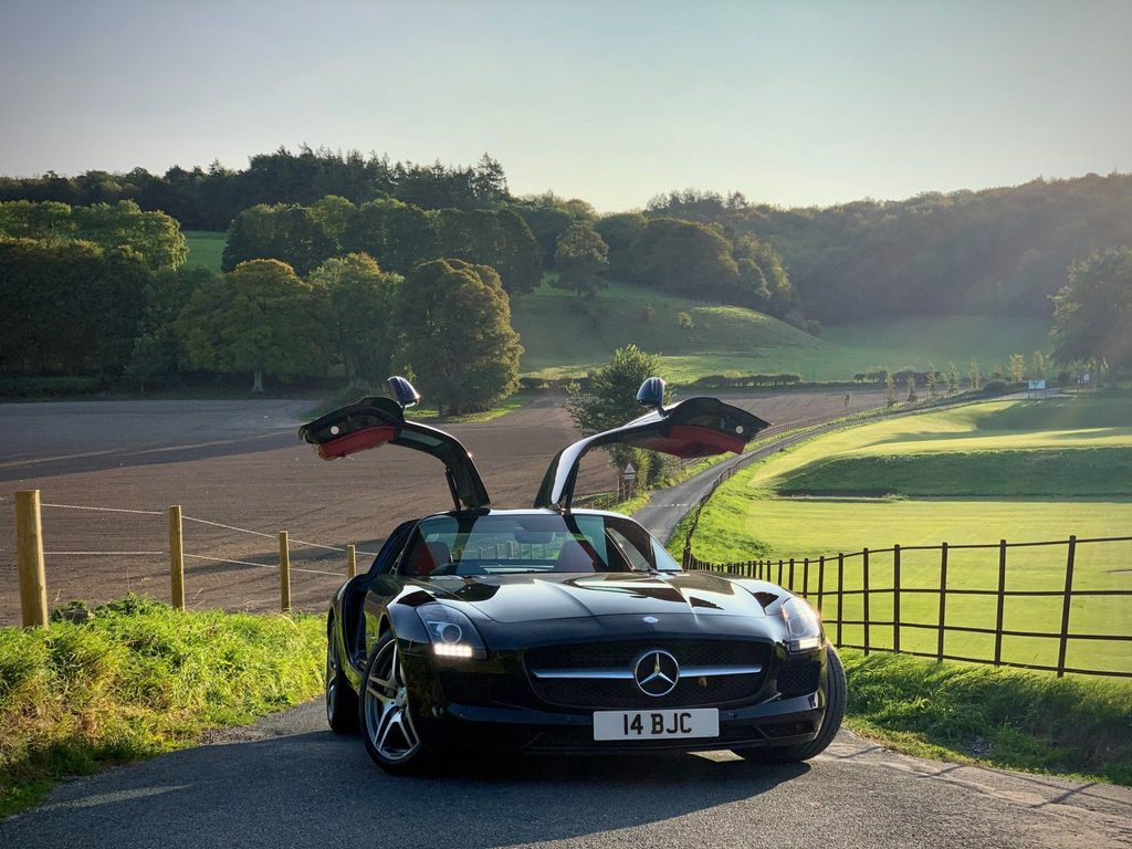 Mercedes-Benz SLS Coupe 6.2 AMG 2dr