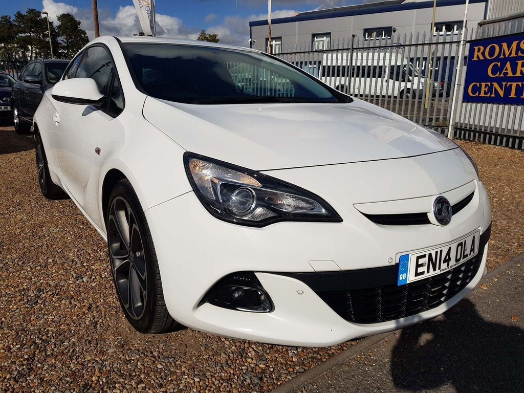 Vauxhall Astra GTC Coupe 1.6T 16V Limited Edition (s/s) 3dr