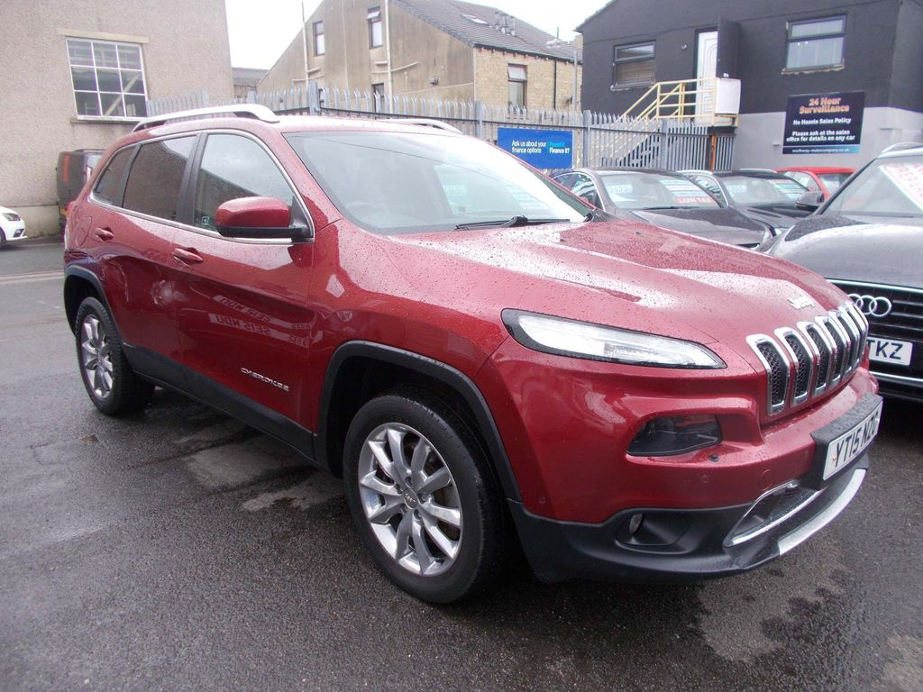 Jeep Cherokee SUV 2.0 CRD Limited Auto Active Drive II (s/s) 5dr