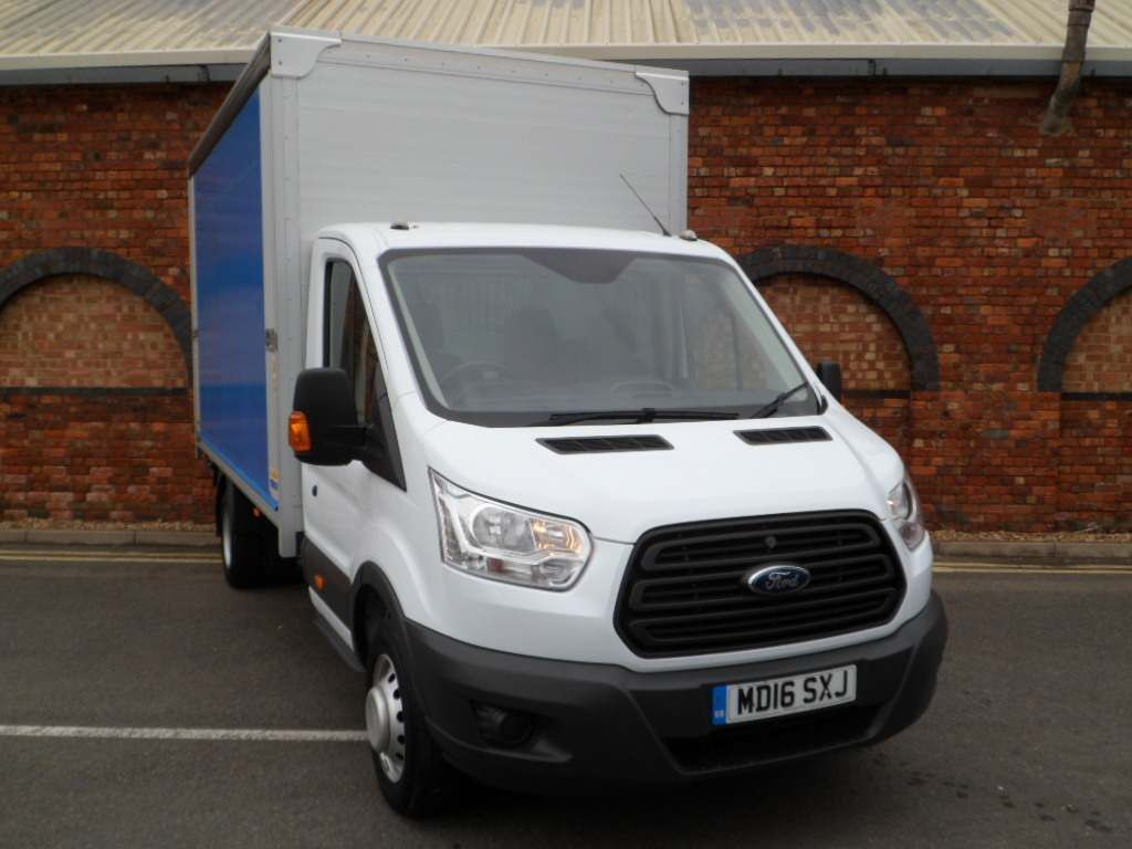 Ford Transit Curtain Side 2.2 TDCi 350 Curtainsider RWD L4 H1 2dr (DRW)