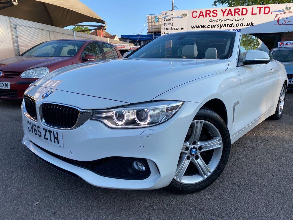 BMW 4 Series Convertible 2.0 420i SE 2dr