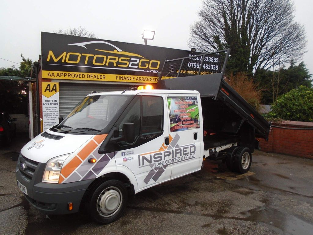 Ford Unlisted Chassis Cab 350 C/C TIPPER