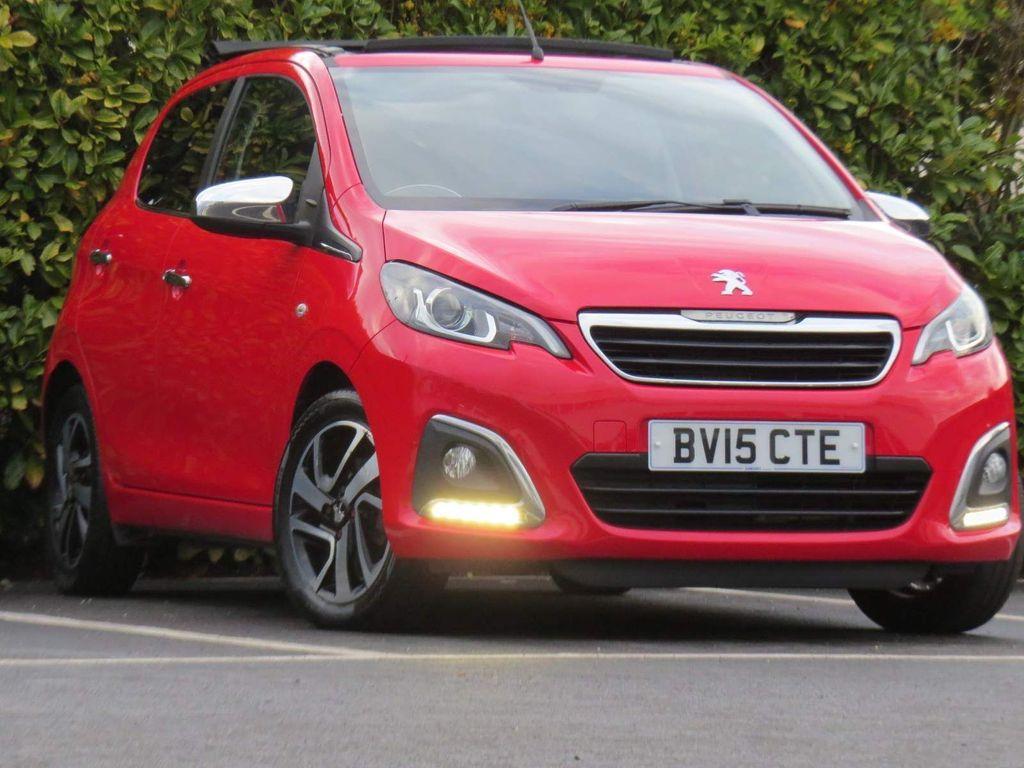 Peugeot 108 Convertible 1.2 VTi PureTech Allure Top! 5dr