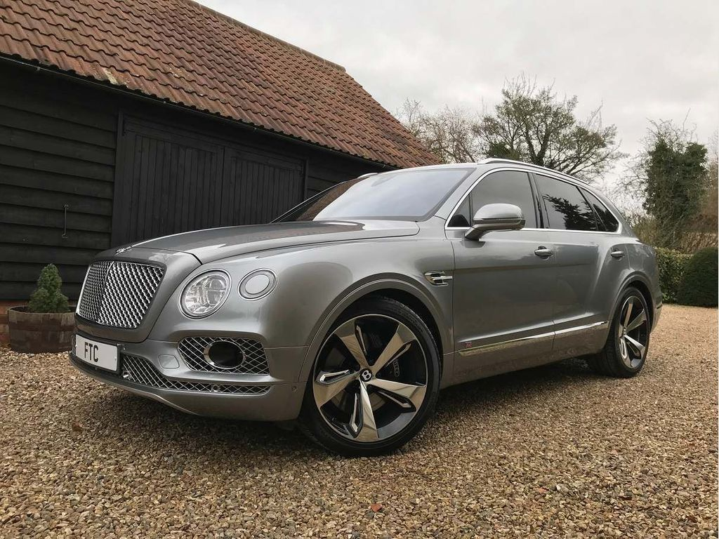 Bentley Bentayga SUV 6.0 W12 First Edition Auto 4WD (s/s) 5dr 5 Seat