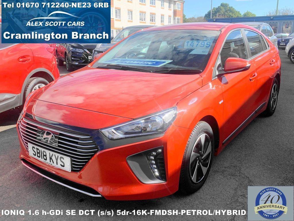Hyundai IONIQ Hatchback 1.6 h-GDi SE DCT (s/s) 5dr