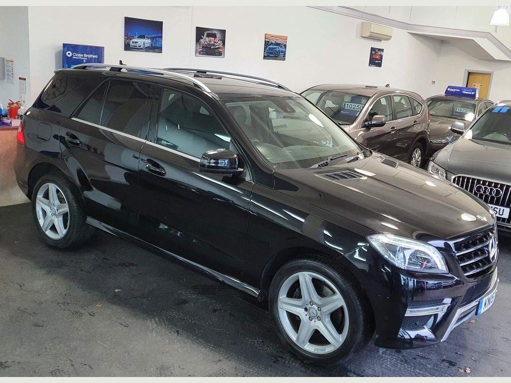 Mercedes-Benz M Class SUV 2.1 ML250 CDI BlueTEC AMG Line 7G-Tronic Plus 4MATIC 5dr