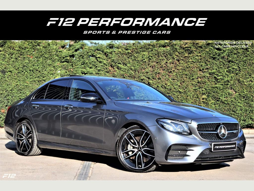 Mercedes-Benz E Class Saloon 3.0 E53 BiTurbo EQ Boost AMG SpdS TCT 4MATIC+ (s/s) 4dr