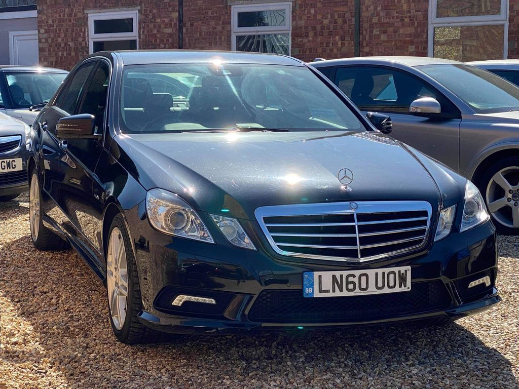 Mercedes-Benz E Class Saloon 2.1 E200 CDI BlueEFFICIENCY Sport 4dr
