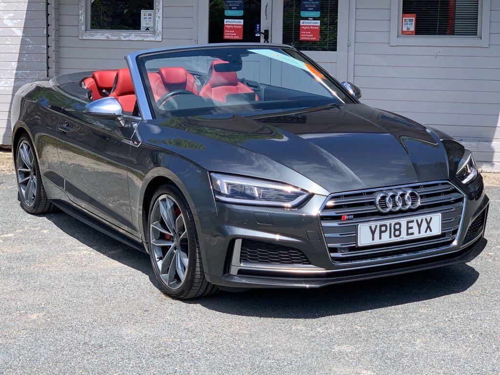 Audi S5 Convertible 3.0 TFSI V6 Cabriolet Tiptronic quattro (s/s) 2dr