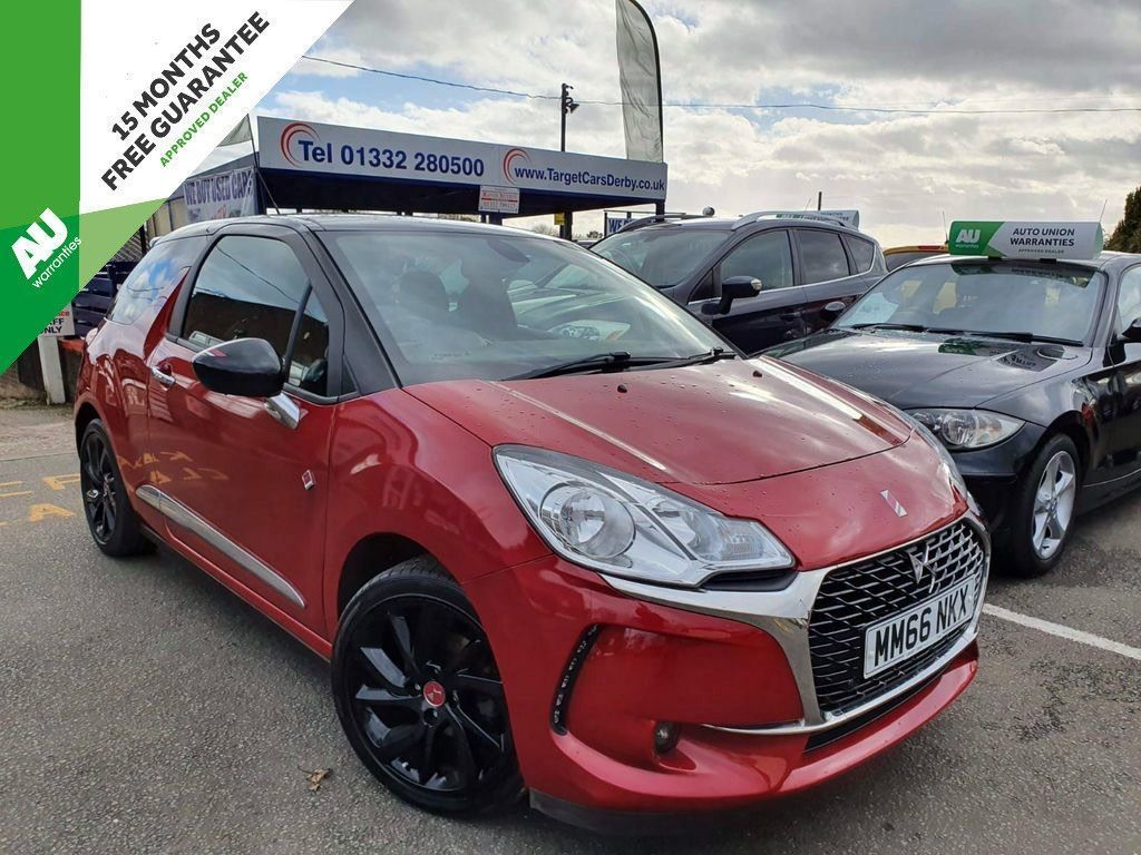 DS AUTOMOBILES DS 3 Hatchback 1.6 BlueHDi Performance Line (s/s) 3dr