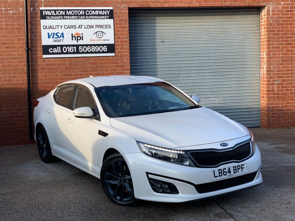 Kia Optima Saloon 1.7 CRDi 2 (s/s) 4dr