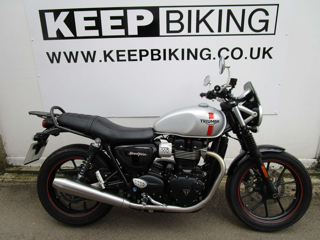 Triumph Street Twin Roadster/Retro 900 Street Twin Prem Paint