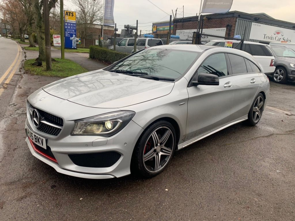 Mercedes-Benz CLA Class Estate 2.0 CLA250 Engineered by AMG Shooting Brake 7G-DCT 4MATIC (s/s) 5dr