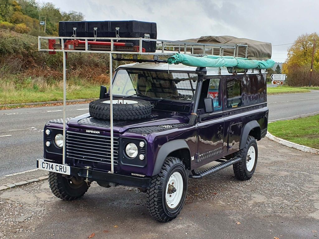 Land Rover 110 SUV 2.5 TD Hard Top Diesel Manual (85 bhp)