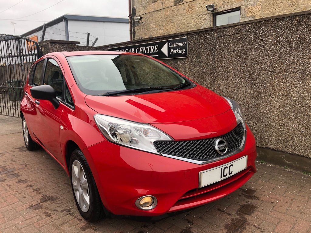 Nissan Note Hatchback 1.2 12V Visia Limited Edition 5dr