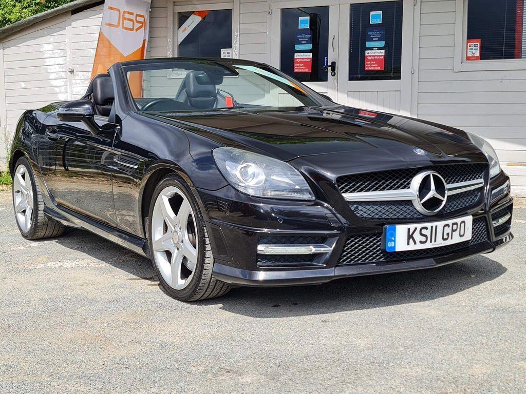 Mercedes-Benz SLK Convertible 3.5 SLK350 BlueEFFICIENCY AMG Sport 7G-Tronic 2dr