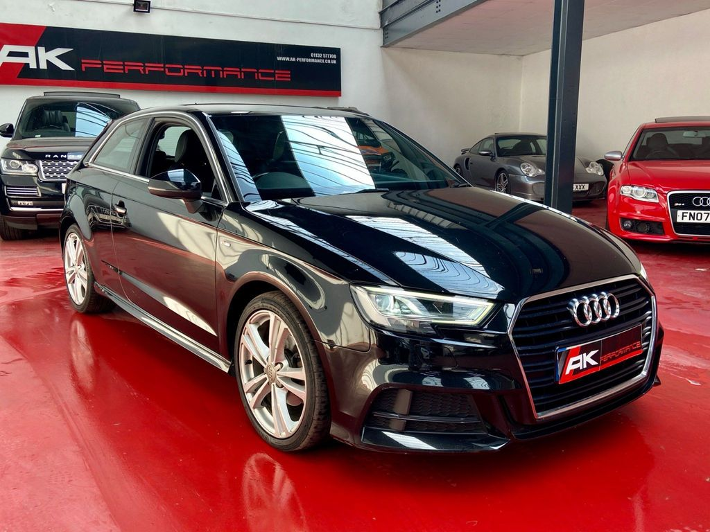 Audi A3 Hatchback 2.0 TDI S line S Tronic Auto 6Spd (s/s) 3dr