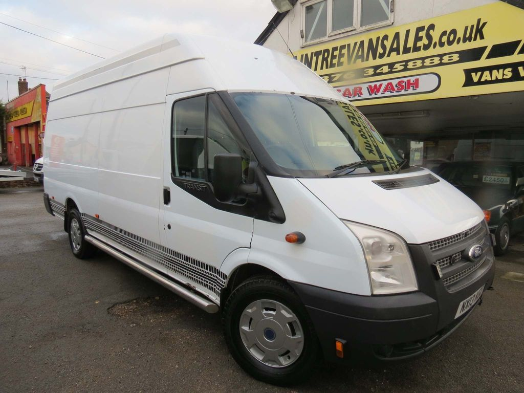FORD TRANSIT Unlisted 2.2 TDCi 350 L Jumbo High Roof Van SRW 4dr (EU5, LWB)