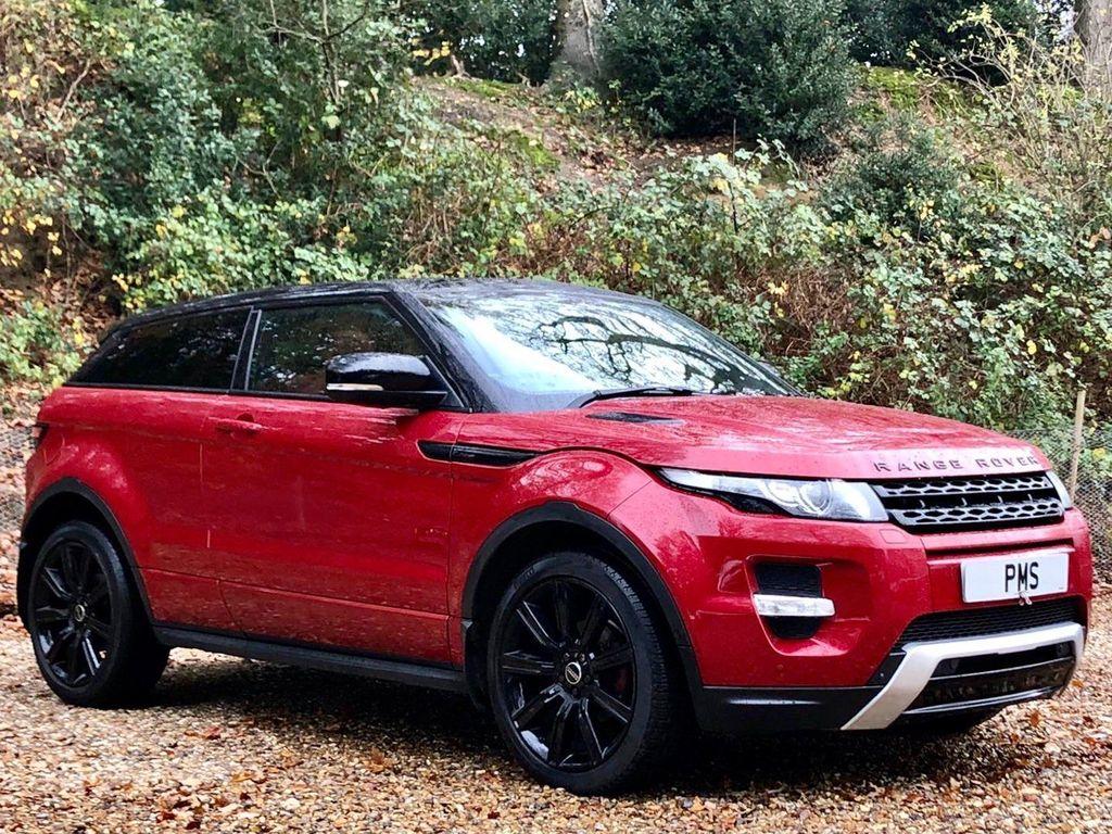Land Rover Range Rover Evoque Coupe 2.0 SI4 Dynamic Lux Auto 4X4 3dr