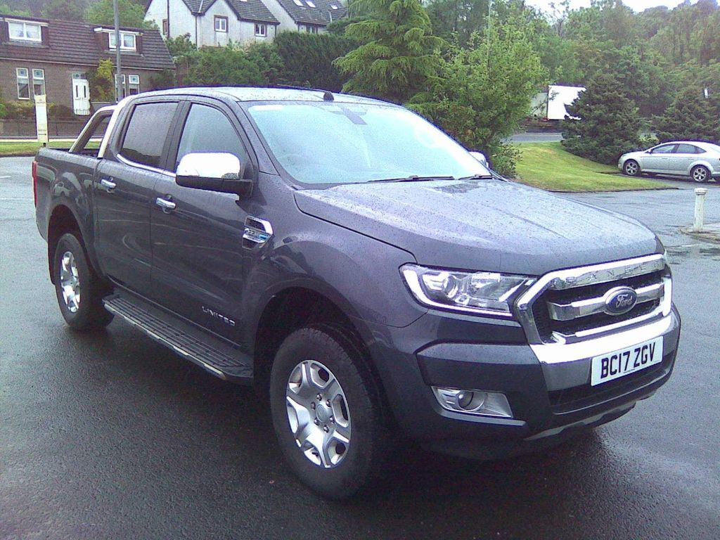Ford Ranger Pickup 2.2 TDCi Limited 2 Double Cab Pickup Auto 4WD 4dr