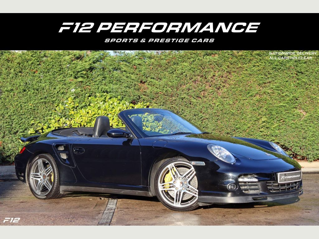 Porsche 911 Convertible 3.6 997 Turbo Cabriolet Tiptronic S AWD 2dr