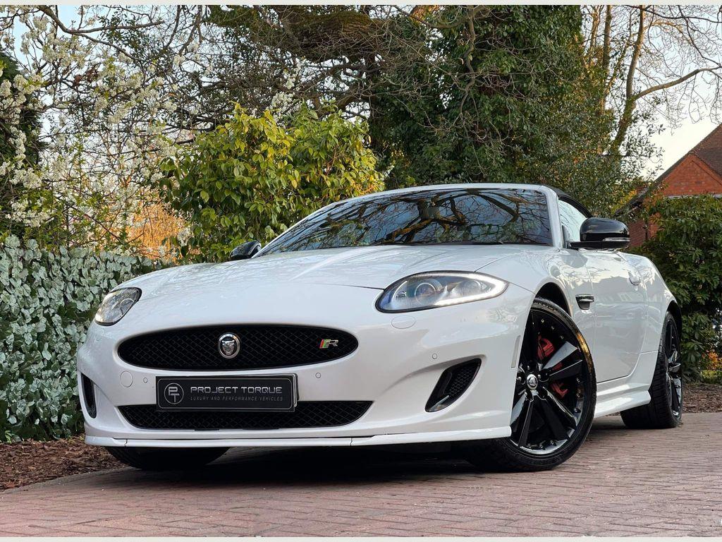 Jaguar XKR Convertible 5.0 V8 Auto 2dr