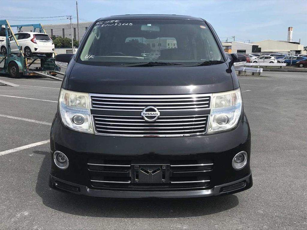 Nissan Elgrand MPV HWS Black Leather Limited 3.5 Petrol