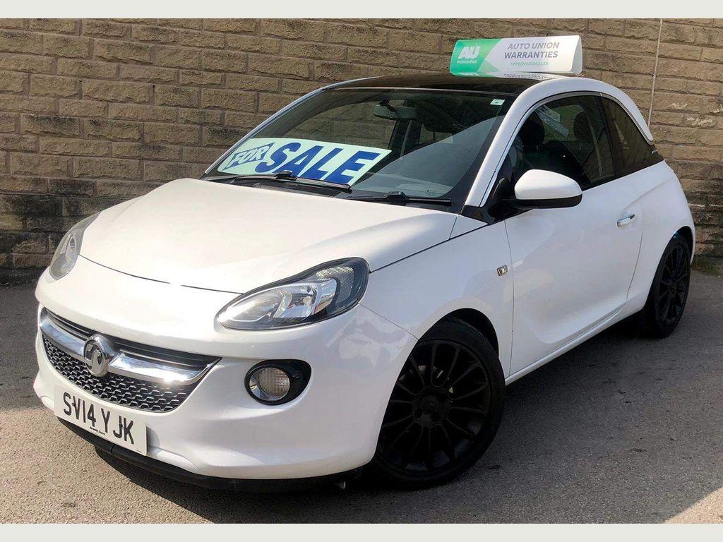 Vauxhall ADAM Hatchback 1.2 16v GLAM 3dr