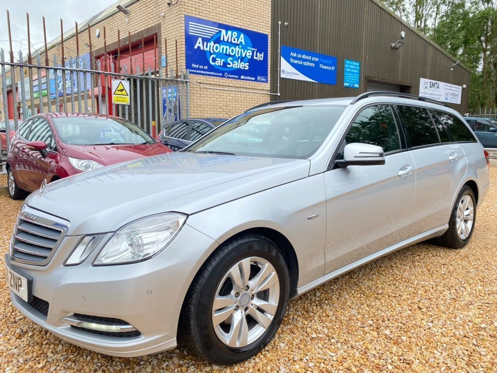Mercedes-Benz E Class Estate 2.1 E220 CDI BlueEFFICIENCY SE Edition 125 G-Tronic (s/s) 5dr