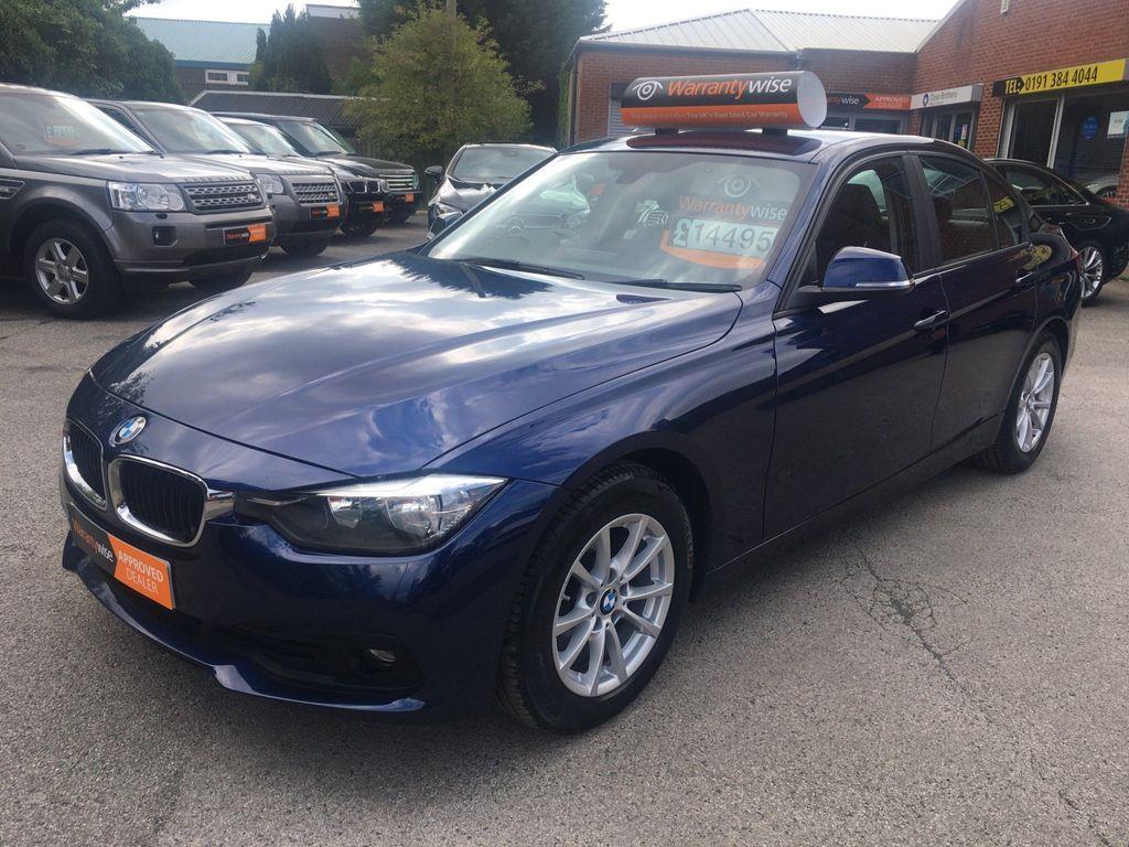 BMW 3 Series Saloon 2.0 320d BluePerformance Sport Auto (s/s) 4dr