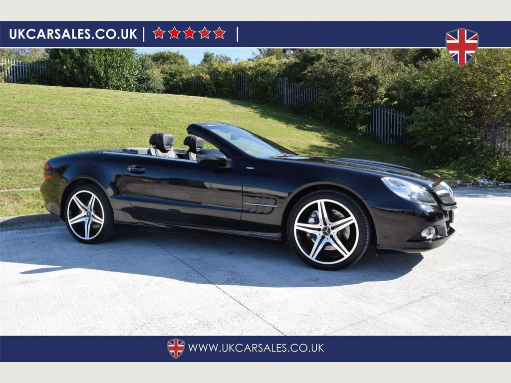 MERCEDES-BENZ SL CLASS Convertible 3.5 SL350 Night Edition Cabriolet 2dr