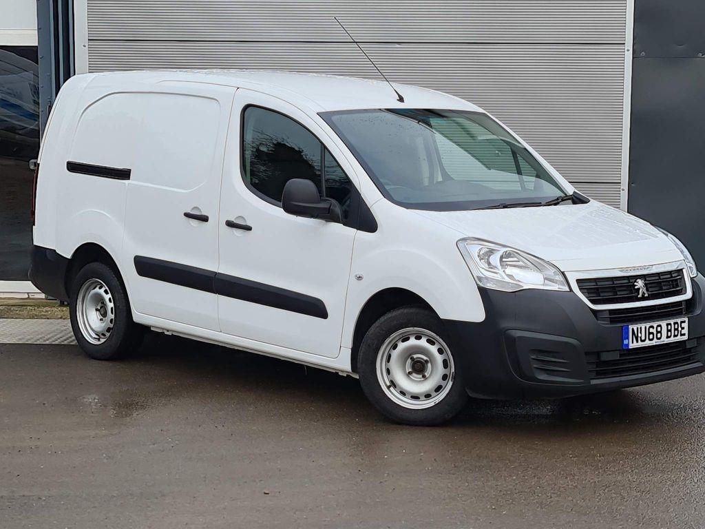 Peugeot Partner Combi Van BLUE HDI 715 S 1.6 blue HDI CREW VAN 100